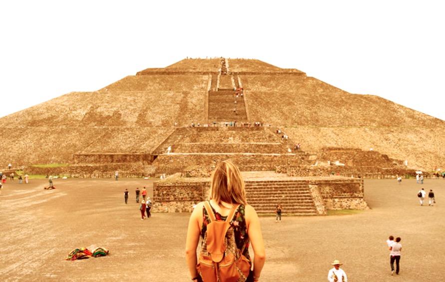 Теотиуакан в Мексике