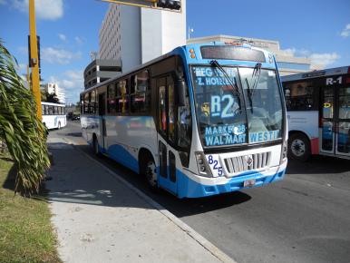 Автобус в Канкуне