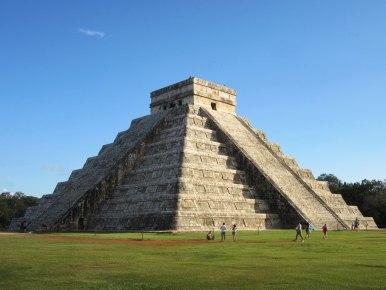 7-е чудо света пирамида в Чичен Ице