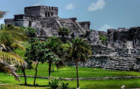 Храм Тулум древний город