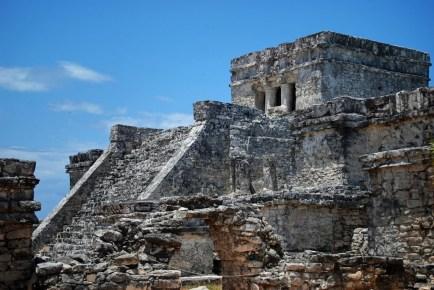 Тулум храм порт море