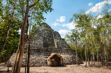 Пирамида Коба вид