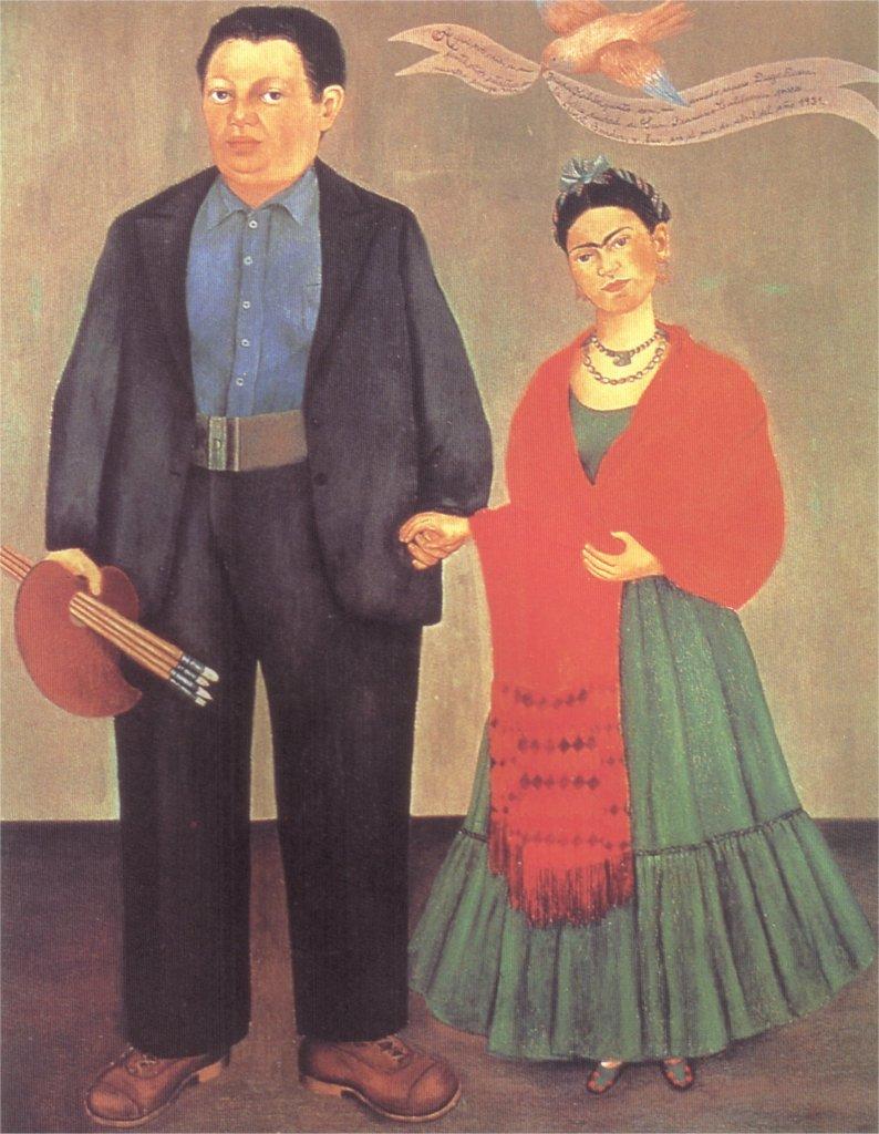 Диего Ривьера взял в жены Фриду Кало