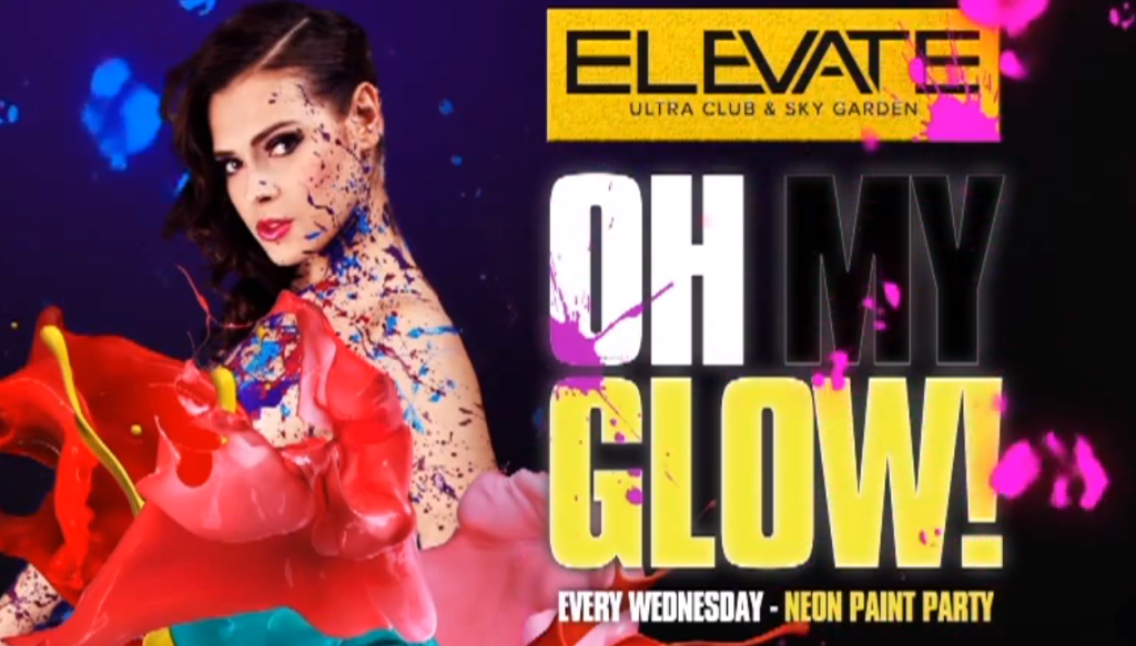 Элевейт Канкун. Elevate Ultra Club & Sky Garden. Яркая жизнь ночью в Канкуне. Куда сходить, шде потусоваться в Канкуне
