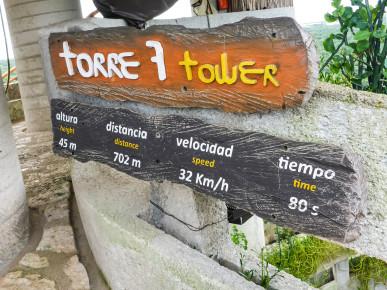 Характеристики тарзанки на башне номер 7