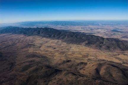Вид на Сьера Мадре. Дуранго. Мексика