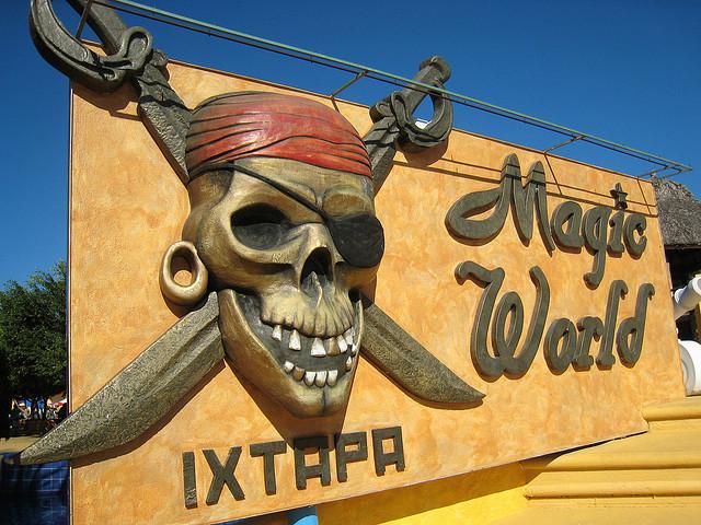 Аквапарк Мэджик Ворлд в Икстапа. Мексика
