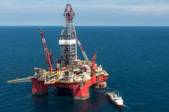 Буровая платформа Пемекс PEMEX в Мексиканском заливе
