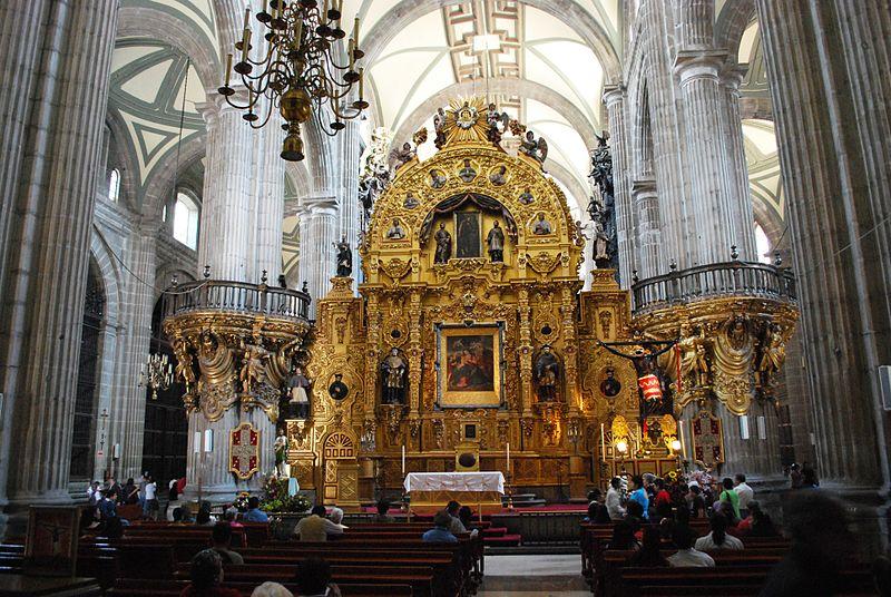 Кафедральный собор Успения Девы Марии в Мехико Сити на обзорной экскурсии с частным гидом