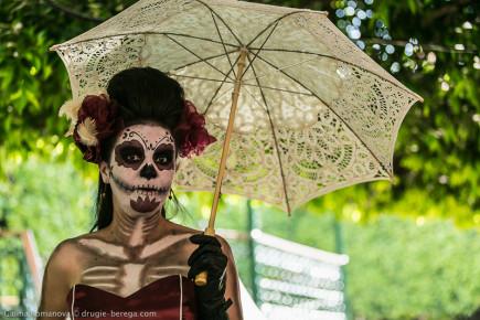 Красавица смертушка с Мексике