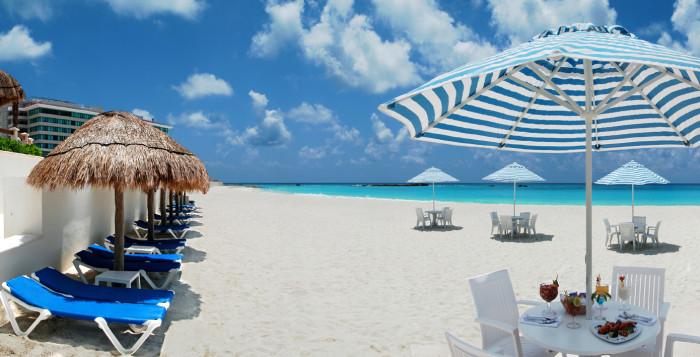 Пляжи Канкуна. Море и песок в канкуне