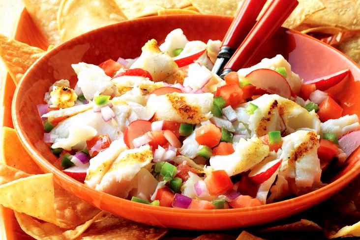Севиче с морепродуктами. Мексиканская кухня
