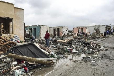 Смерч ударил в час пик, что усугубило ситуацию. Ураган в Мексике