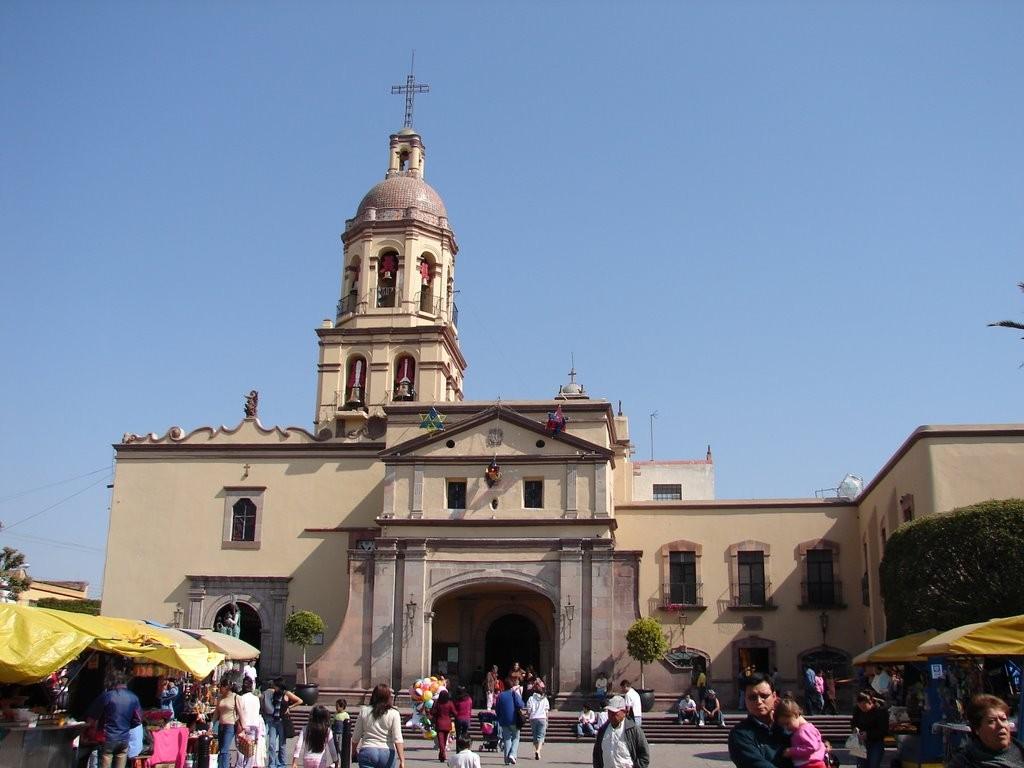 Собор Санта Круз в Сантьяго де Керетаро