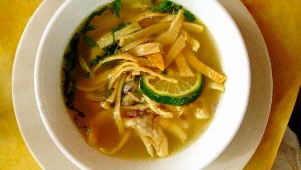 Сопа де Лима. Лимонный суп в Мексике