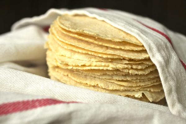 Тортияс - мексиканские маисовые лепешки