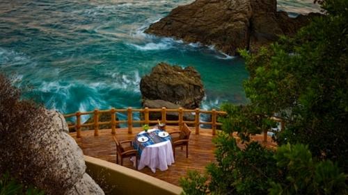 Шикарный вид на море из отеля Капелла. Икстапа. Мексика