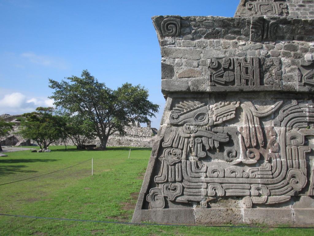 Археологические памятники в Шочикалько, Морелос, Мексика
