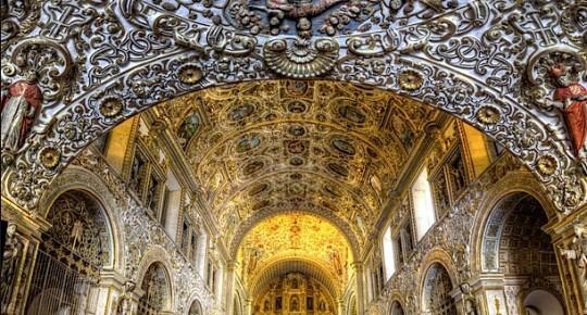 Внутреннее убранство собора Святого Доминго