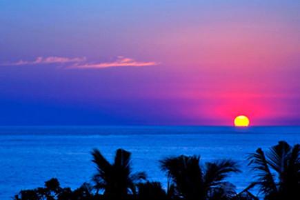 Закат в Наярит. Мексика