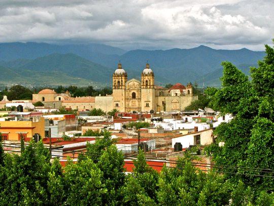 Замечательный вид на город Оахака