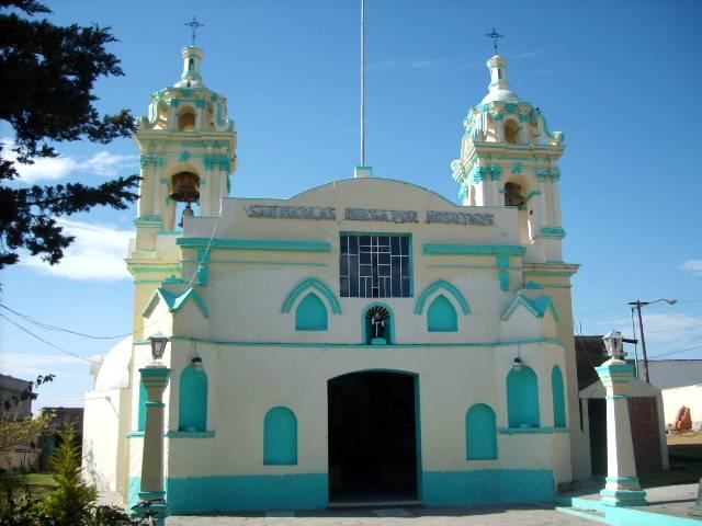 Внешний облик прекрасной Капеллы Сан Николас де Толентино в Тласкале