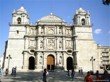 Кафедральный собор в Оахака. Мексика