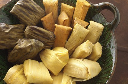 Тамалес - дошедшее до нас блюдо индейцев