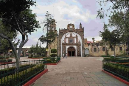 Обитель Сан Педро Актапан, Морелос, Мексика