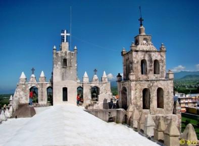 Сан Матео, вид с крыши, Морелос, Мексика