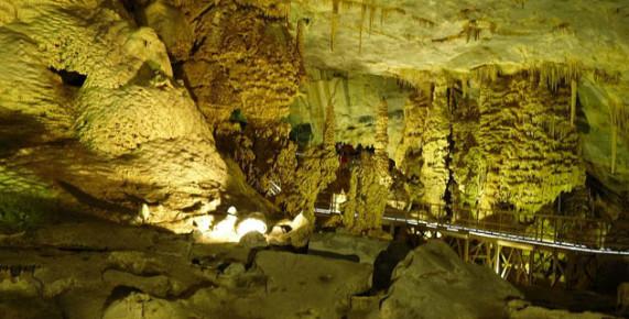 Сталактитовая пещера Грутас де Гарсия, Нуэво Леон