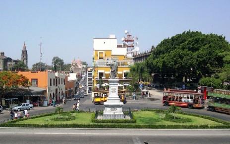 Туристический центр Куэнаваки, штат Морелос в Мексике