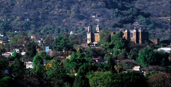 Храм Тепостлан, Морелос, Мексика