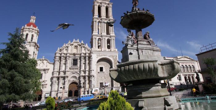 Центр города Сантильо, Коауила, Мексика
