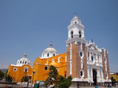 Внешний вид храма Сан Хосе в Тласкале