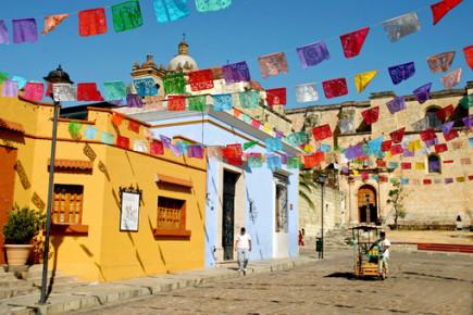 Яркие улочки города Оахака