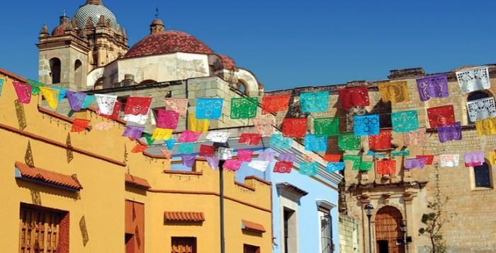 Яркий штат Оахака. Мексика