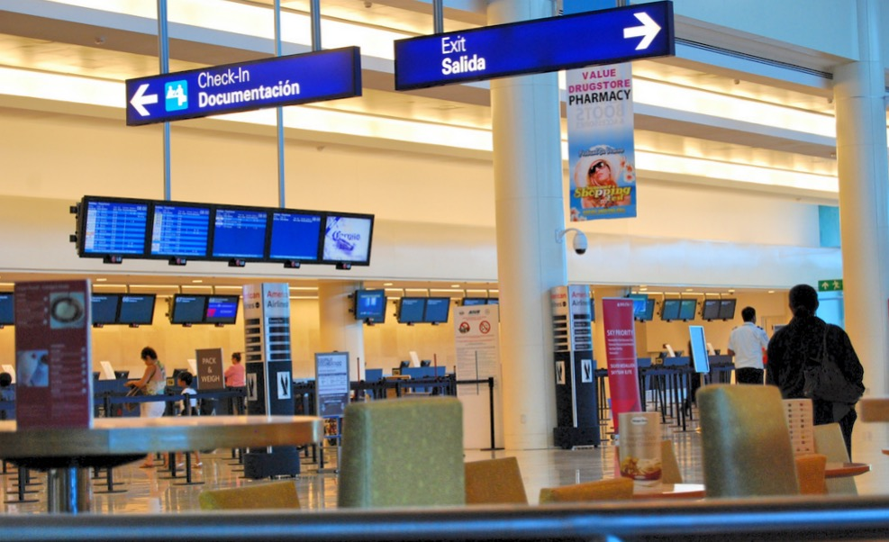Зал регистрации 3 терминал аэропорта Канкуна