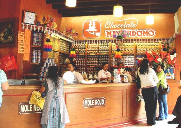 Магазин шоколада в Оахаке