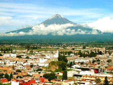 Вулкан Попокатепетль, Пуэбла