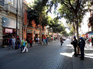 Занимательные улочки Мехико Сити