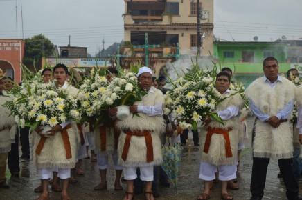 Индейцы Цоциль в Сан Хуан Чомула