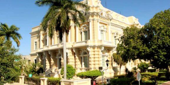 Проспект Пасео де Монтехо, на котором расположились самые красивые дома колониального периода, город Мерида
