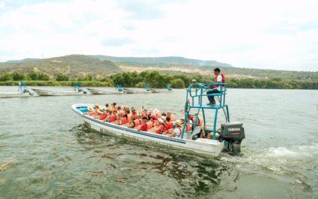 Прогулка на лодке по реке Грихальва