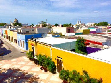 Разноцветные домики Кампече