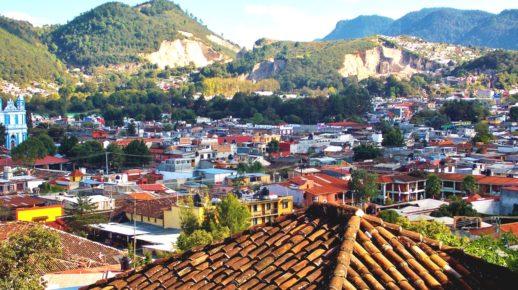 Сан Кристобаль окутанный горами, штат Чиапас
