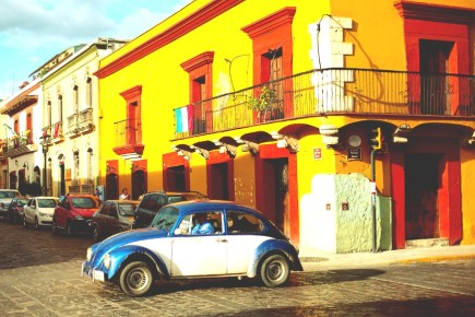 Улочки Оахака