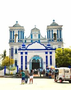 Церковь в городе Теуантепек в штате Оахака
