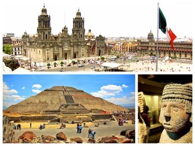 Экскурсия по Мехико сити