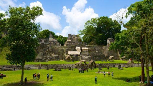 Археологический парк маяской цивилизации Тикаль